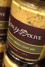 MUSTARD WITH GREEN OLIVE MIX