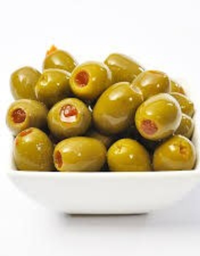 SPANISH PIMENTO STUFFED OLIVES
