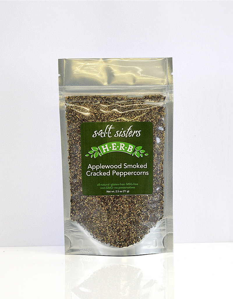 s.a.l.t. sisters APPLEWOOD SMOKED CRACKED PEPPERCORNS 2.5oz