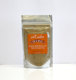 s.a.l.t. sisters GARLICKY WILD MUSHROOM RUB & SEASONING 3oz