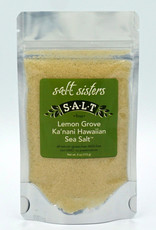 s.a.l.t. sisters LEMON GROVE KA'NANI HAWAIIAN SEA SALT, FINE 4oz