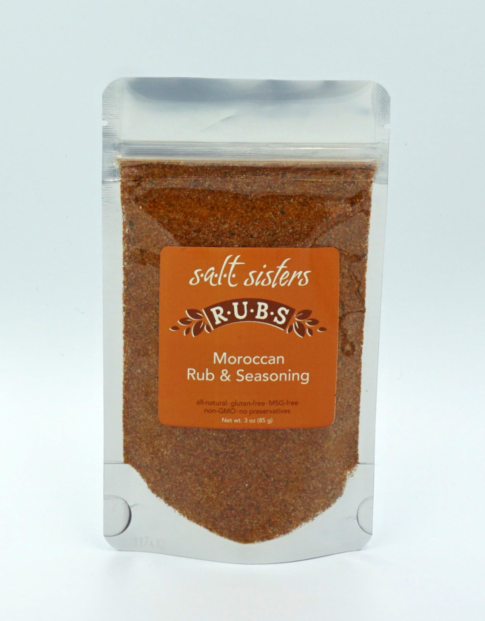 s.a.l.t. sisters MOROCCAN RUB & SEASONING 3oz