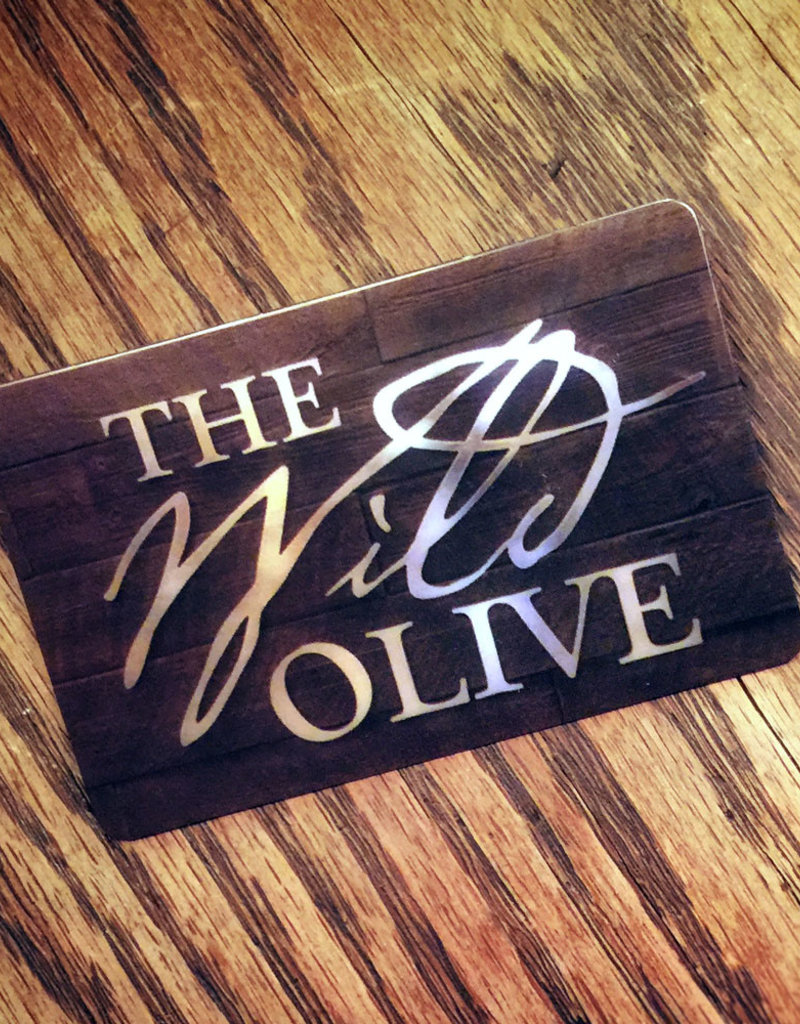 THE WILD OLIVE GIFT CARD