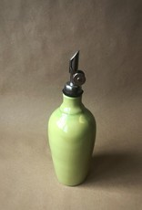 HATFIELD POTTERY CRUET - SPRING GREEN