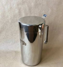 1 LITER SANSONE ITALIAN STAINLESS STEEL DECANTER