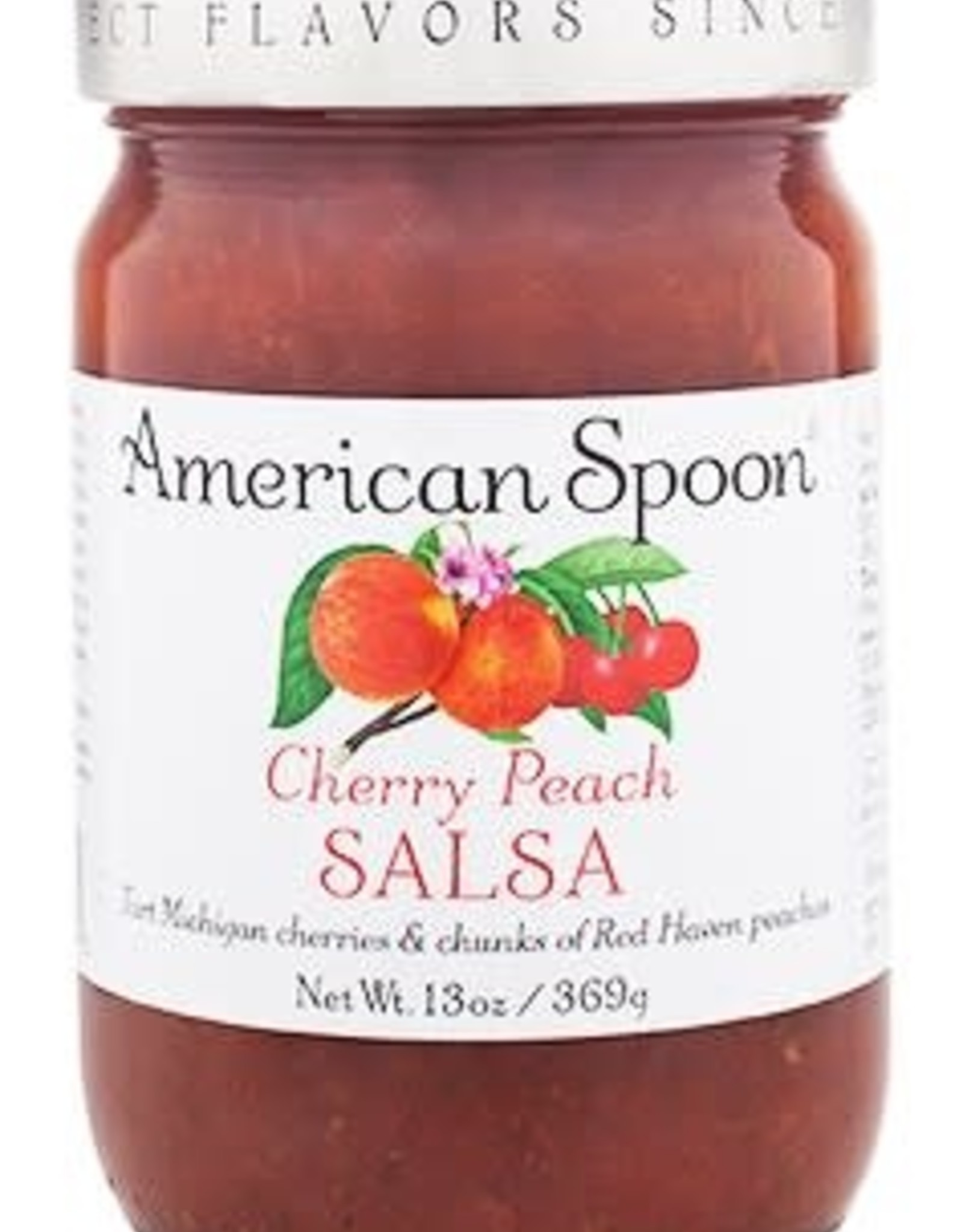 American Spoon AMERICAN SPOON CHERRY PEACH SALSA