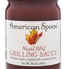 American Spoon AMERICAN SPOON MAPLE BBQ GRILLING SAUCE