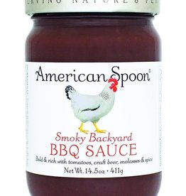American Spoon AMERICAN SPOON SMOKY BACKYARD BBQ SAUCE