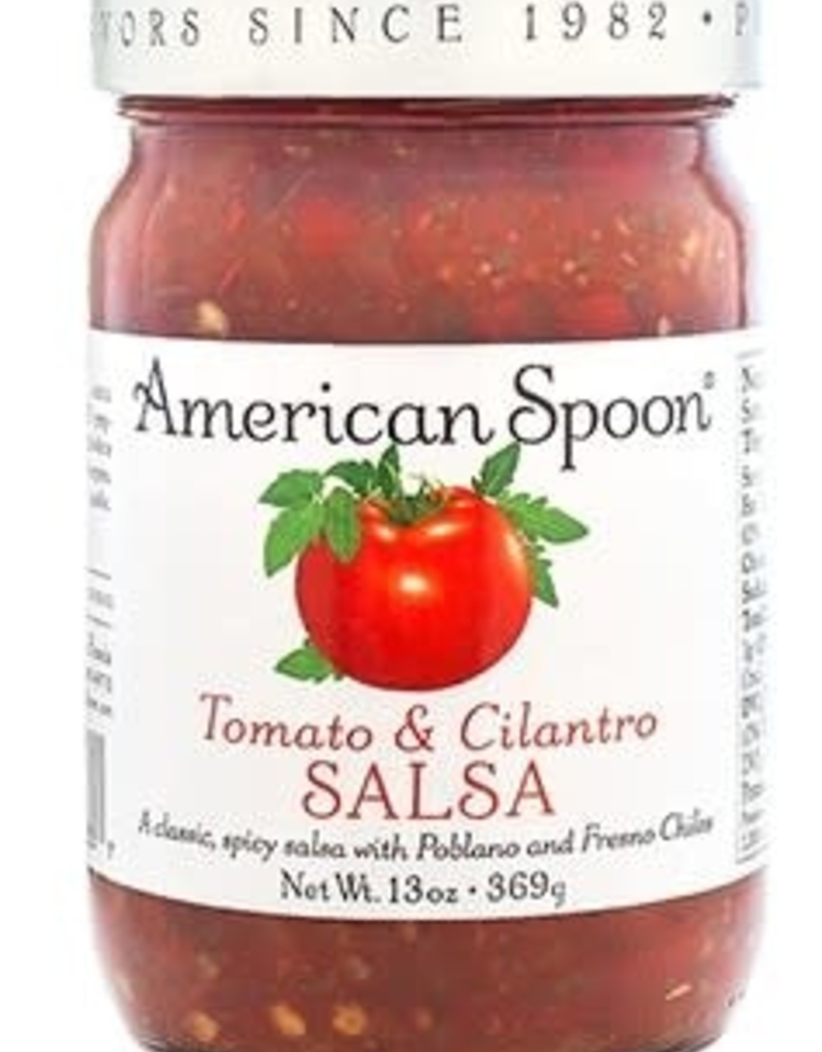 American Spoon AMERICAN SPOON TOMATO & CILANTRO SALSA