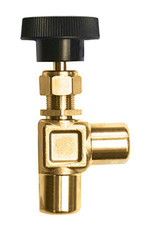 Brass Angle Valve 1/8xF each