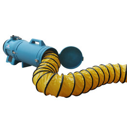 XPower 25 Ft. Ducting Hose 8 In. Diameter W/Carrier