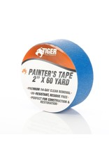 "Tiger Tough Blue Painters Tape 2""(Case of 24)"