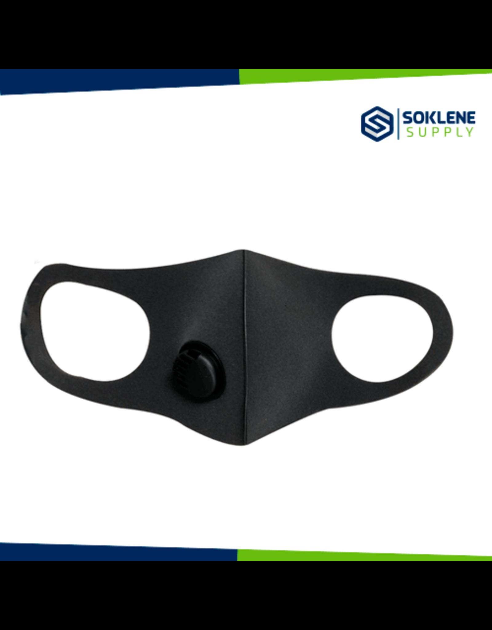 Smart face mask for kids  W  Breathing Valve