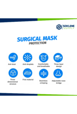 Surgical mask pack of 50 -SHIPS OUT SAME DAY