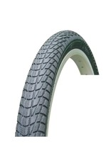 "Chao Yang 16"" X 2.125 SMOOTH TYRE BLACK"