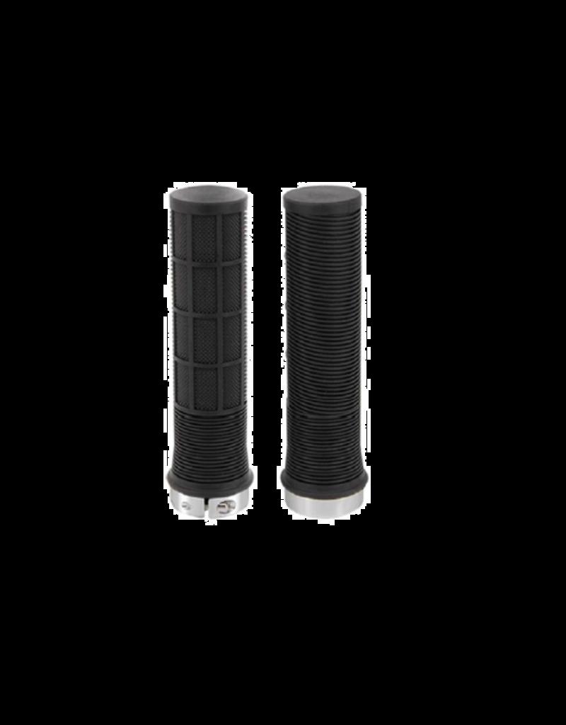 KWT LOCK ON GRIP (BLACK RINGS)