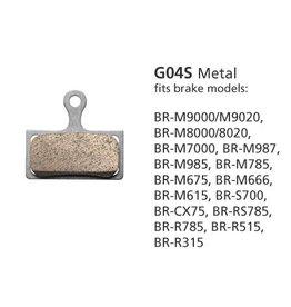 Shimano SHIMANO G04TI M9000 BRAKE PAD METAL