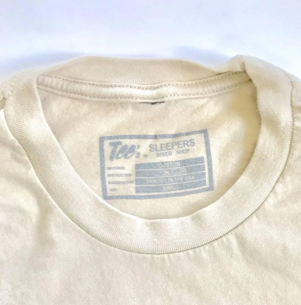 Sleepers Speed Shop T- Shirt - Ivory