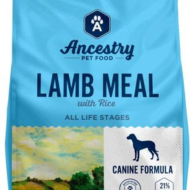 Ancestry Ancestry Lamb Meal & Rice