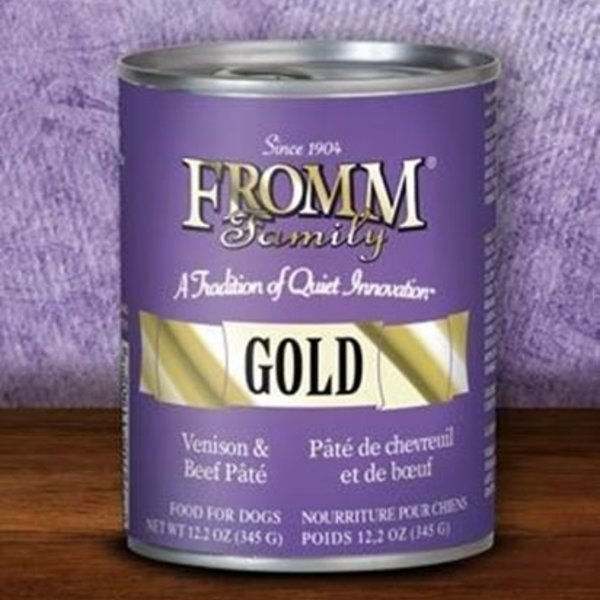 Fromm Family Fromm Gold Venison & Beef Pate 12oz Can