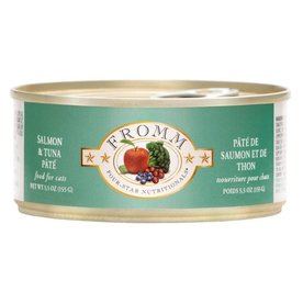 FROMM FAMILY FOODS LLC Fromm Cat Salmon &  Tuna Pate