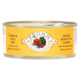 FROMM FAMILY FOODS LLC Fromm Turkey & Duck 5.5