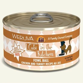 Weruva Weruva Fowl Ball 6oz.