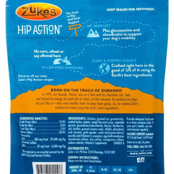ZUKE'S Zuke Hip Action Treats