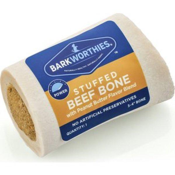 "Barkworthies Barkworthies Shin Bone Peanut Butter 3-4"""