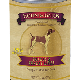 Hound and Gatos Hound and Gatos Turkey Liver Cans