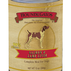 Hound and Gatos Hound and Gatos Salmon and Lamb Liver Cans