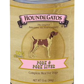 Hound and Gatos Hound and Gatos Pork Liver Cans