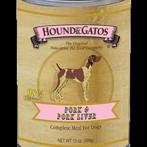 Hound and Gatos Hound and Gatos Pork Liver Cans