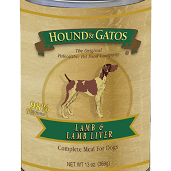 Hound and Gatos Hound and Gatos Lamb Liver cans