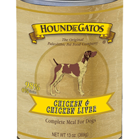 Hound and Gatos Hound and Gatos Chicken Liver Can