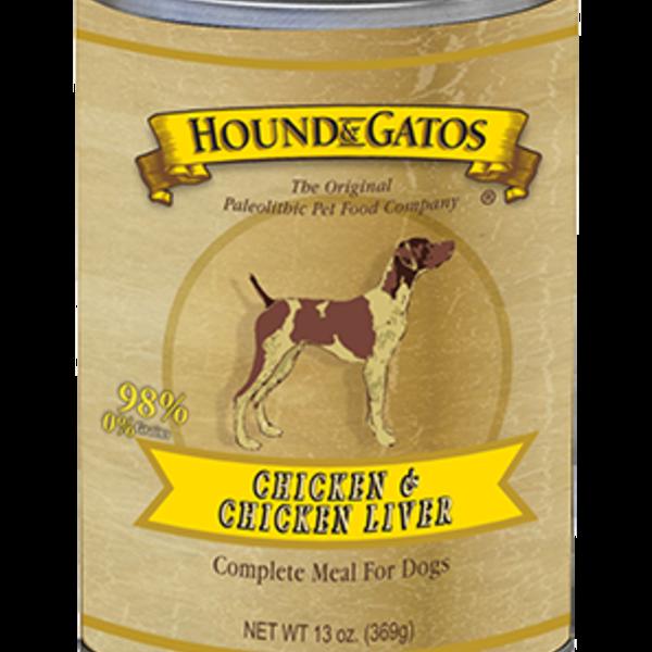 Hound and Gatos Hound and Gatos Chicken Liver Can