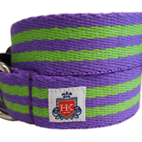 Henley Collection Henley Collection Purple & Green Collar