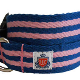 Henley Collection Henley Collection Pink & Blue Collar