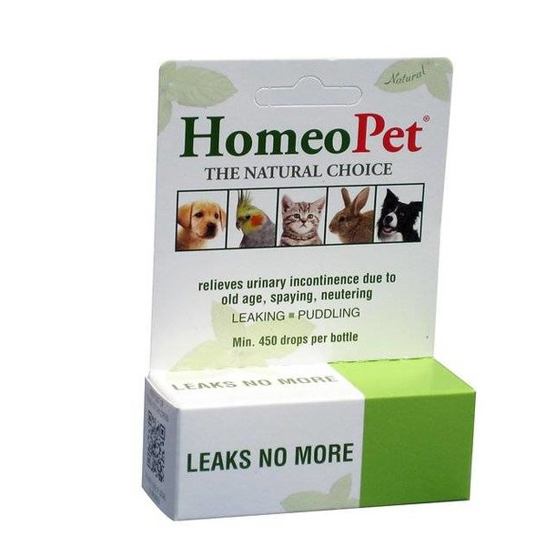 HOMEOPET SOLUTIONS HOMEOPET Leaks No More 15ml