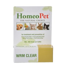 HOMEOPET SOLUTIONS HOMEOPET WORM Clear 15ml