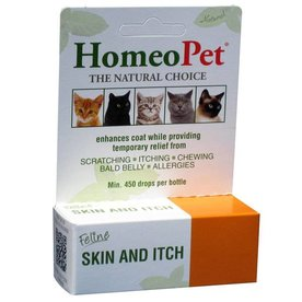 HOMEOPET SOLUTIONS HOMEOPET Skin & Itch Cat 15ml ~ Product for Cats