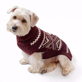 Alqo Wasi Alqo Wasi Burgundy Sweater