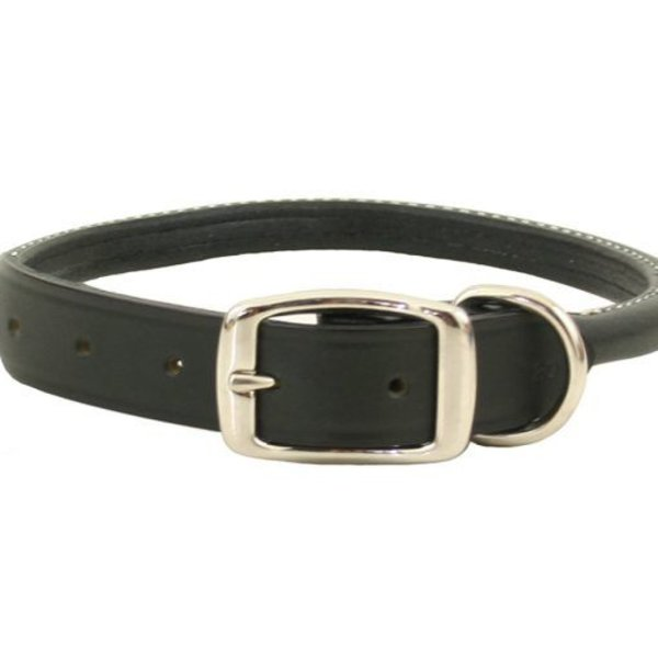 Auburn Leather Crafters Auburn leather Rolled Collar