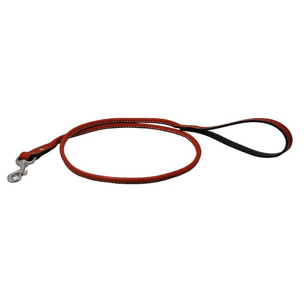 Auburn Leather Crafters Auburn Rolled Leather Leash