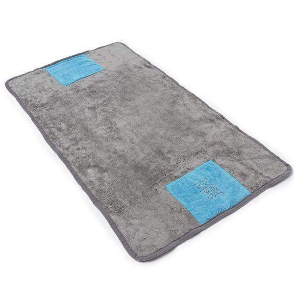 Messy Mutts Messy Mutts Microfiber Towel Gray