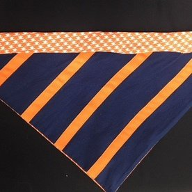 UVA Navy/Orange Bandana