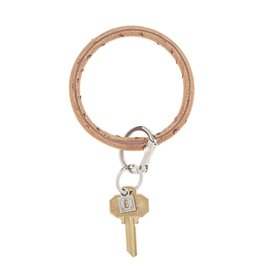 Big O Key Ring mocha ostrich