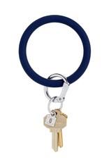Big O Key Ring midnight navy silicone