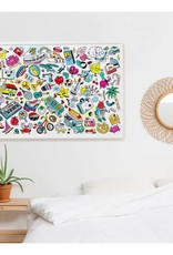 OMY giant coloring poster- pop