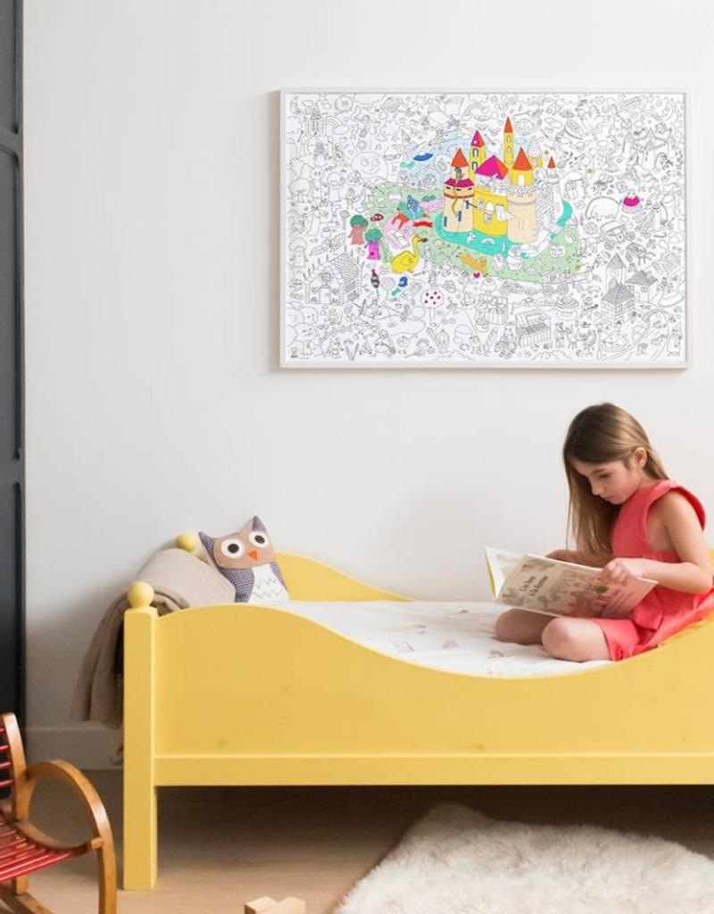 OMY giant coloring poster- magic
